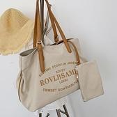 托特包-北包包洋氣帆布包包2020新款韓版百搭大容量單肩包簡約時尚托特包