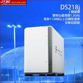 Synology 群暉科技 DiskStation DS218j NAS (2BayMarvell512MB) 網路儲存伺服器(不含硬碟)