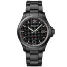 Longines 浪琴表征服者V.H.P.系列 萬年曆手錶-碳纖維x鍍黑/43mm L37262666