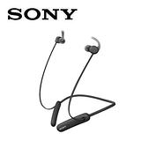 SONY無線藍牙運動式耳麥WI-SP510-B黑色
