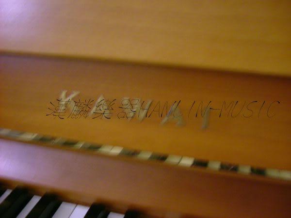 【HLIN漢麟樂器】-日本原裝kawai河合123號直立式中古二手鋼琴-原木-亮黑-豪華27