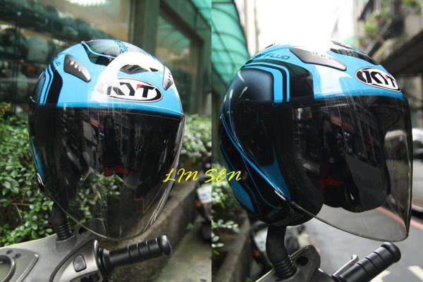 KYT安全帽,DJ專用鏡片(新款)