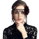 萬圣節派對情趣鏤空成人女半臉眼罩【不二雜貨】