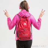 多功能超輕皮膚包可折疊雙肩包腰包單肩登山包輕便攜    琉璃美衣