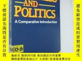 二手書博民逛書店Business罕見and Politics 《商業與政治》 含