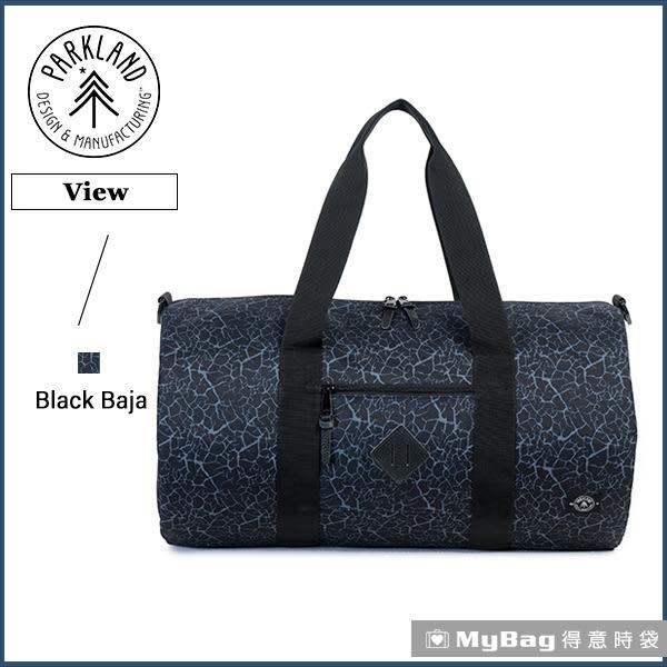 Parkland 旅行袋  黑灰色  休閒大容量側背包 View-064 MyBag得意時袋