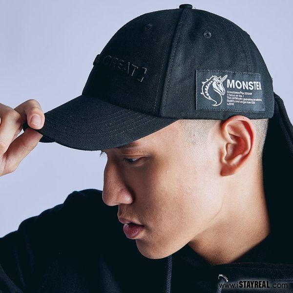 CROXXBONES x 怪獸 Focus on me 老帽