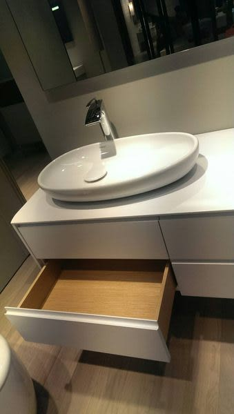 【麗室衛浴】國產實用造型防水發泡板浴櫃目錄及施工圖