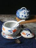 蒸碗煲湯燉盅調料罐日式和風餐具陶瓷碗帶蓋家用燕窩蒸蛋羹碗 優樂居