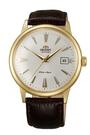 東方錶 ORIENT 防水 復古經典機械 手錶(FAC00003W) 金色