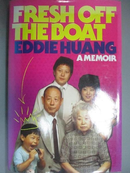 【書寶二手書T1/餐飲_YHG】Fresh Off The Boat_Huang, Eddie