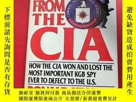 二手書博民逛書店ESCAPE罕見FROM THE CIA 逃出中央情報局Y203