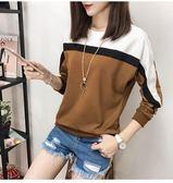 【熊貓】秋季上衣服女新款打底衫長袖T恤外穿