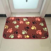 珊瑚絨地毯門墊地墊進門入戶腳墊浴室廚房衛生間吸水DI