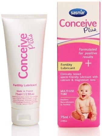 [微友] 法國SASMAR Conceive Plus 助孕潤滑劑 75ML