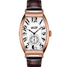TISSOT Heritage Porto 優雅手上鏈機械錶(T1285053601200)