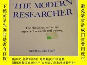 二手書博民逛書店The罕見Modern Researcher revised e