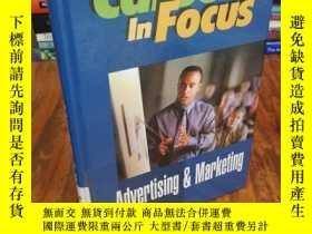 二手書博民逛書店Advertising罕見& Marketing (Career