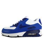 Nike Air Max 90 Mesh GS [833418-105] 童鞋 慢跑 運動 休閒 白 藍