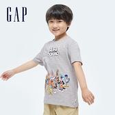 Gap男童GapxWarnerBros怪物奇兵系列純棉短袖T恤889666-灰色