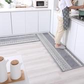 廚房地毯廚房地墊長條防滑防油地毯家用耐臟吸水腳墊進門門口臥室墊子定制~幸福小屋~
