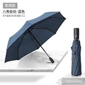雨傘男女全自動折疊晴雨兩用防曬防紫外線大號黑膠遮陽太陽傘訂製 微愛家居