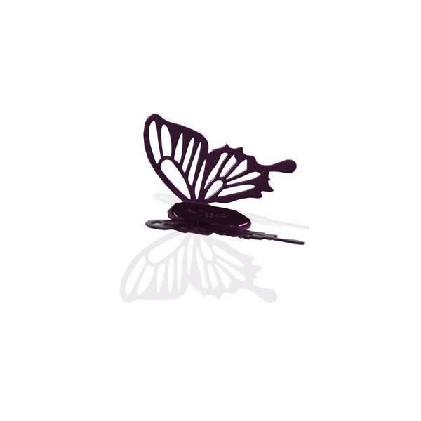冷碎蝶磁鐵(單隻)深紫【Desk+1】