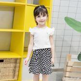 女童童裝夏季新款細條打底衫100-140碼6307 優家小鋪
