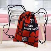 【Babo Panda】BAG-01A巴布熊貓束口袋 後背包