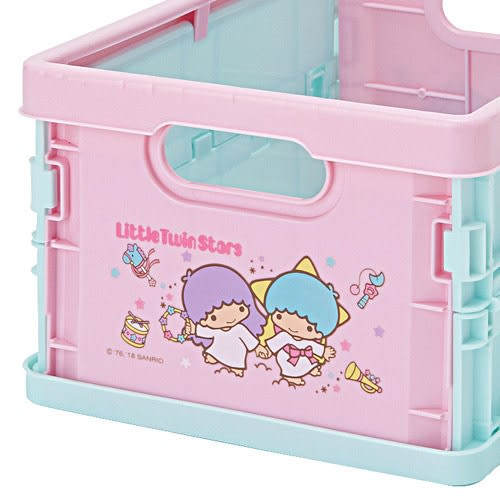 Sanrio 雙星仙子可折式PP收納箱S(快樂玩具)★funbox★_668168N