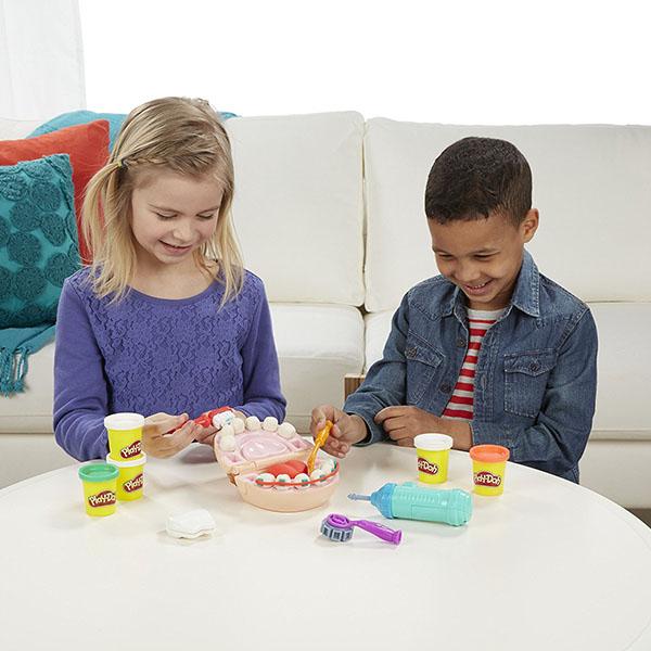 黏土 培樂多Play-Doh 創意DIY 天才小牙醫遊戲組 B5520