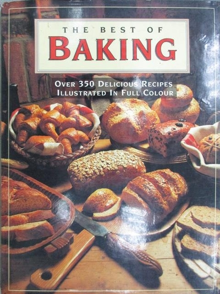【書寶二手書T1/餐飲_ZHC】The Best of Baking