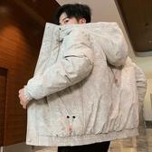 羽絨服秋冬季韓版帥氣短款外套【雲木雜貨】