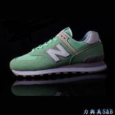 new balance 女慢跑鞋 TIER 3 復古鞋 舒適好穿 百搭 淺綠色鞋面  【5941】