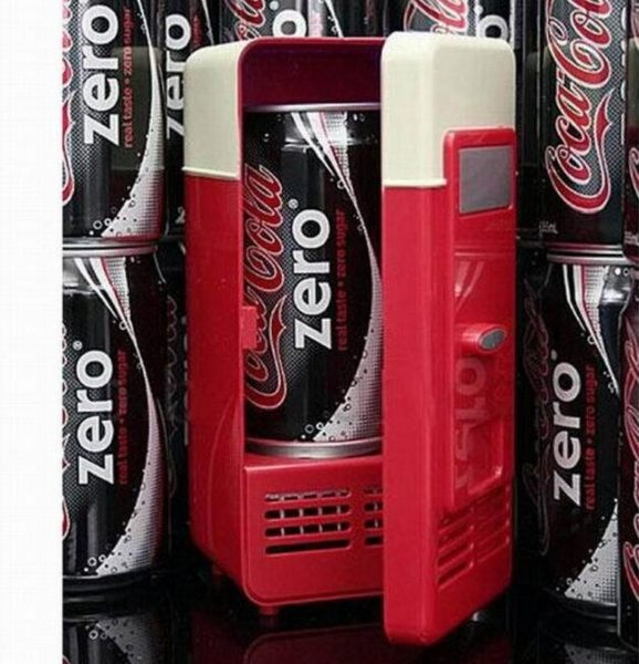 USB 兩用 小冰箱 電冰箱 迷你冰箱 保鮮車 冷熱兩用 製冷製熱 藥箱 化妝品冰箱