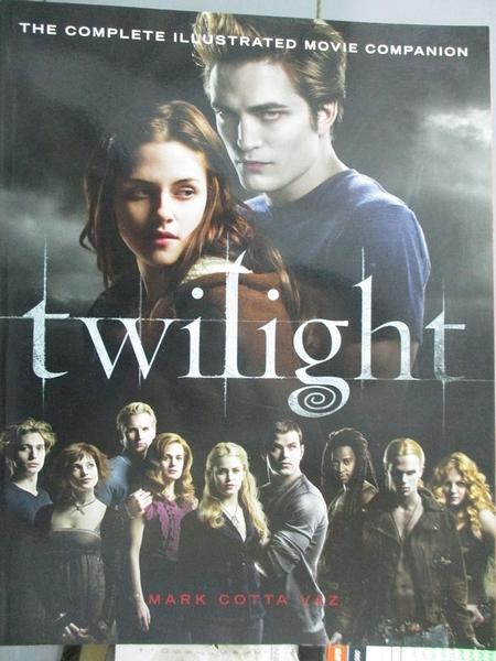 【書寶二手書T1/影視_PHC】Twilight-The Complete Illustrated Movie Companion_VAZ