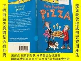 二手書博民逛書店英文原版繪本Pas罕見Perfect Pizza帕的好披薩Y200392