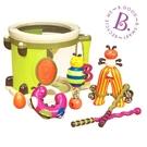 【美國 B.Toys 感統玩具】砰砰砰打擊樂團