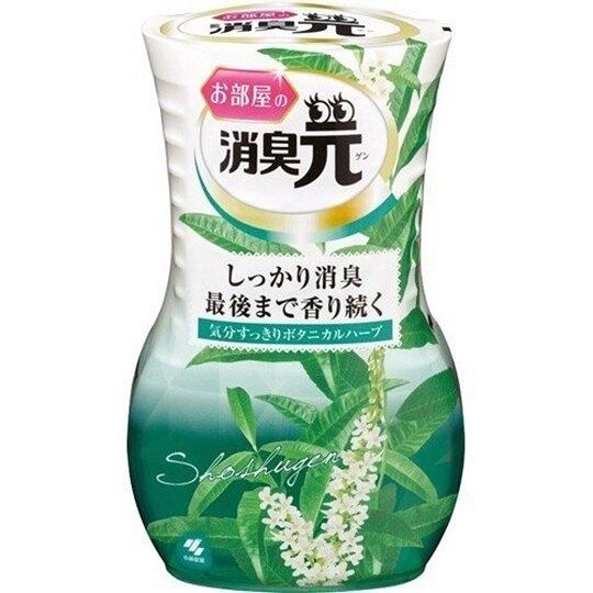 小禮堂 小林製藥 日製 瓶裝室內芳香劑 浴廁芳香劑 除臭劑 雛菊香 400ml (綠白) 4987072-05655