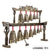 裝飾擺件 層雙龍編鐘仿古樂器工藝禮品婚慶道具