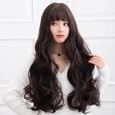 整頂假髮(長髮)-大波良捲髮修臉蓬鬆女假髮4色73vs3【巴黎精品】