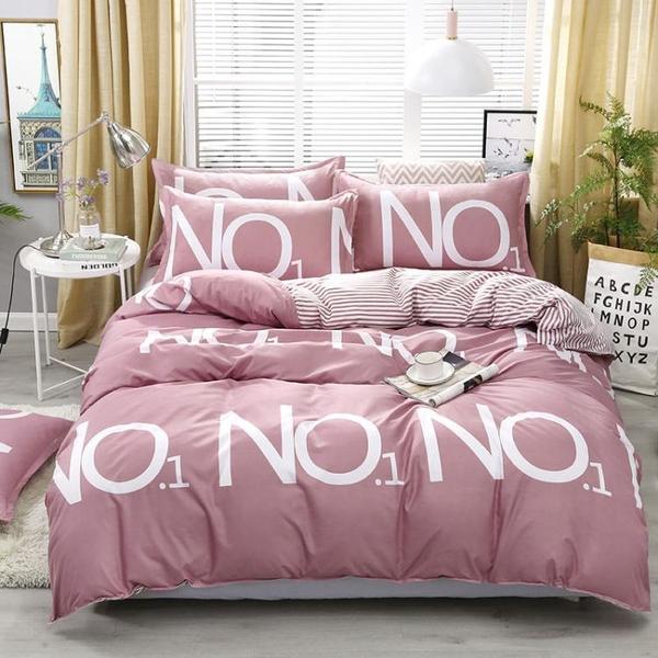 床笠四件套床上用品床笠款三件套雙人被套床單全包防滑床套床罩