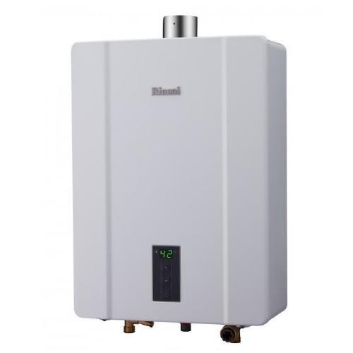 (原廠安裝)林內16公升數位恆溫強制排氣屋內熱水器RUA-C1600WF