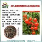 【綠藝家】G81.珍甜蕃茄種子0.04克(約15顆)
