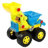 兒童節禮物兒童玩具車工程車推土挖土挖掘機鏟車攪拌翻斗沙灘慣性車大號套裝