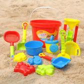 兒童玩具--挖沙鏟子沙灘玩具套裝