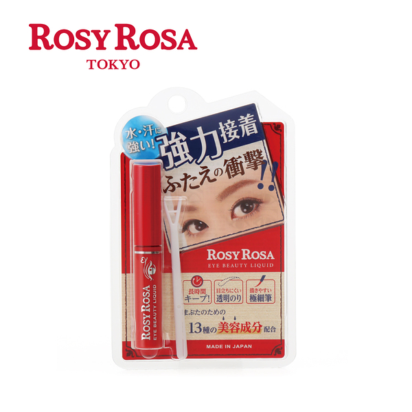 《日本製》ROSY ROSA 衝擊的雙眼皮膠 3g  ◇iKIREI