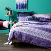 HOLA 安卓斯純棉磨毛床包兩用被組 雙人