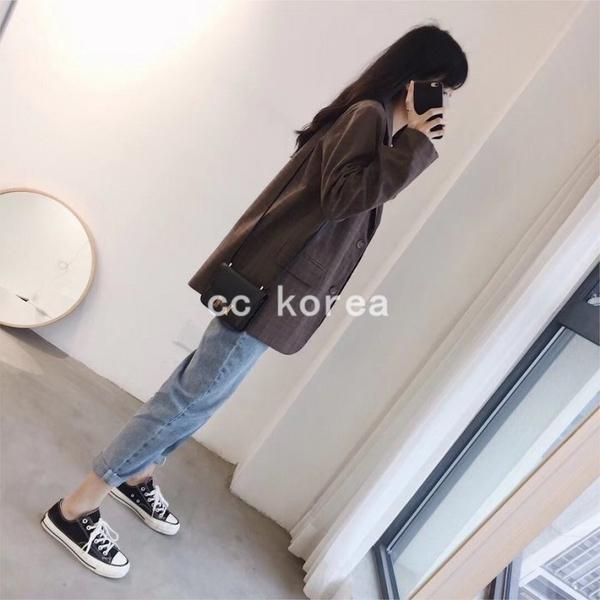 版型超好看隨興休閒牛仔褲 CC KOREA ~ Q26870