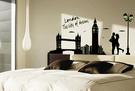【收藏天地】創意生活*夢想倫敦城市壁貼/ 家飾 居家 裝飾 佈置 環保
